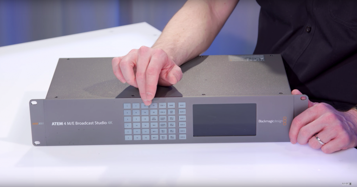 Unboxing the ATEM 4 M/E Broadcast Studio 4K