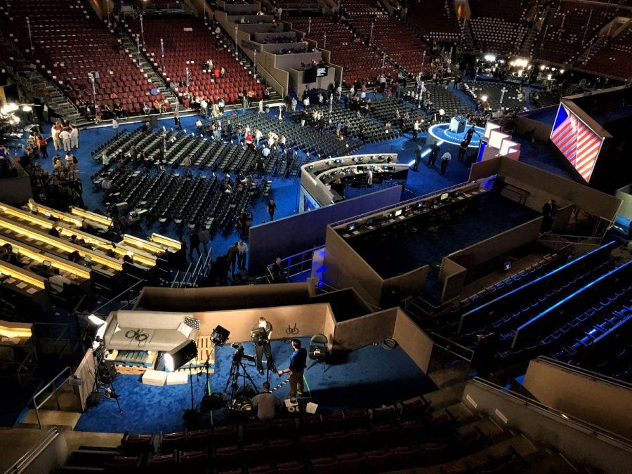 Setting Up the Digital Balcony at DNC