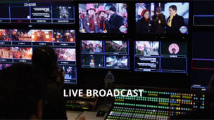 Image result for live broadcast