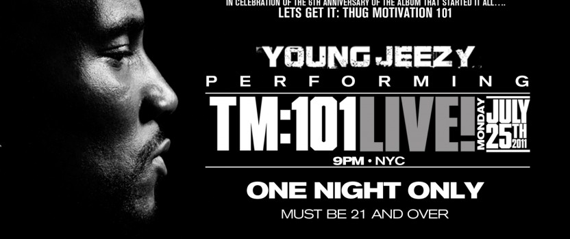 Young Jeezy live at the Highline Ballroom